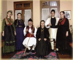 Βλάχοι Βέροιας - Αναπαράσταση βλάχικη οικογένειας 2012