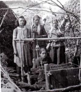 Σαρακατσάνικος αργαλειός1939